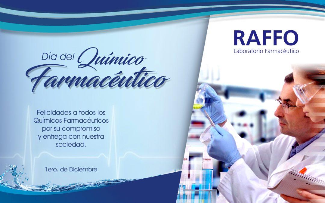 felicitación del Día del Químico Farmacéutico